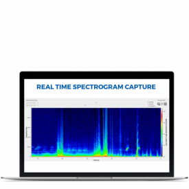 Spectrogram Laptop Software